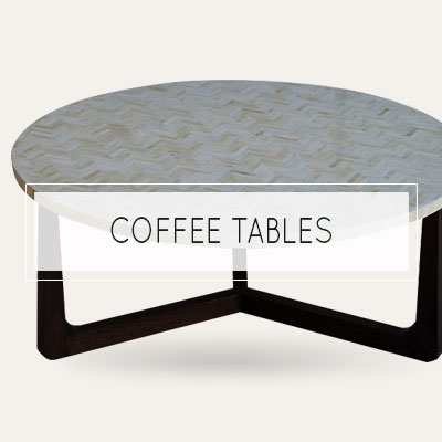 bone inlay coffee table