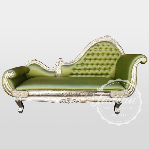 embossed german silver daybed