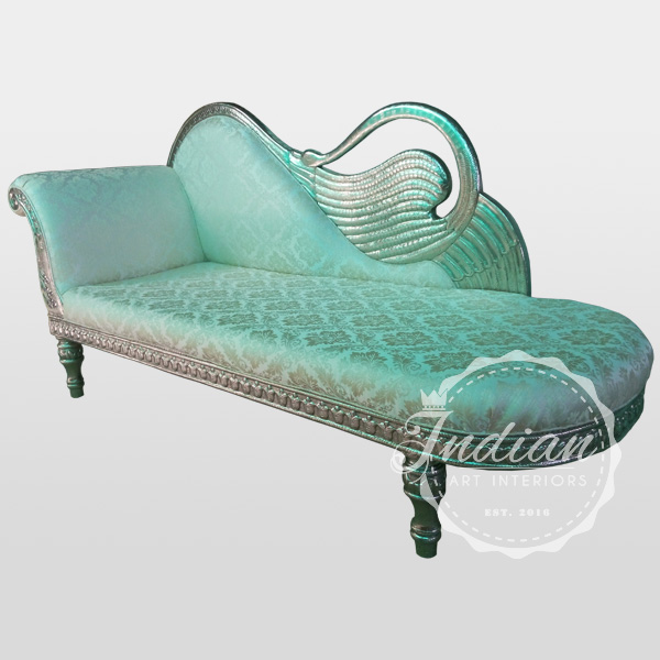 german silver indian daybed