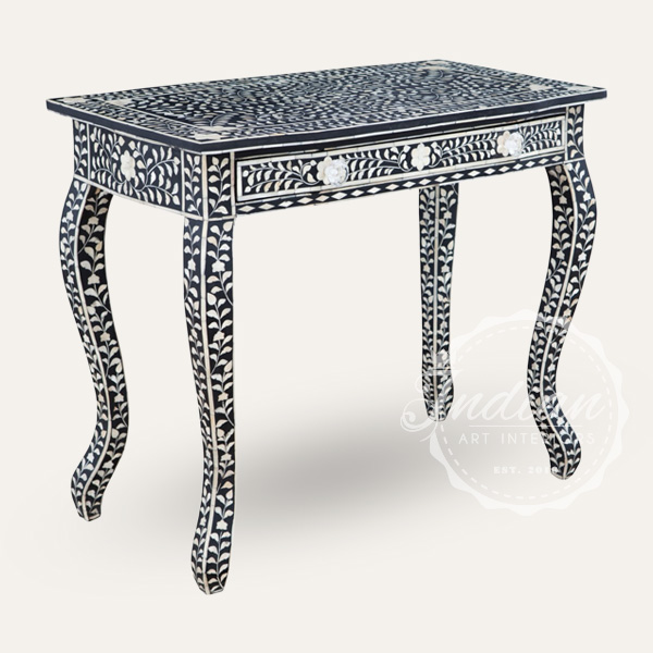 mop inlaid console table