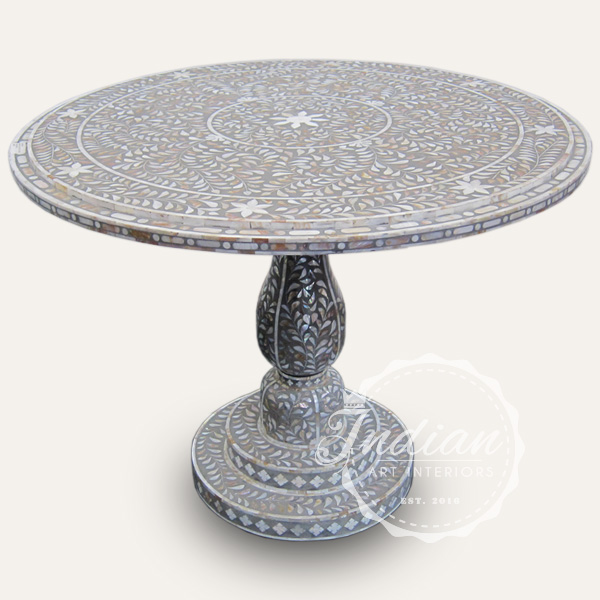 mop inlay dining table