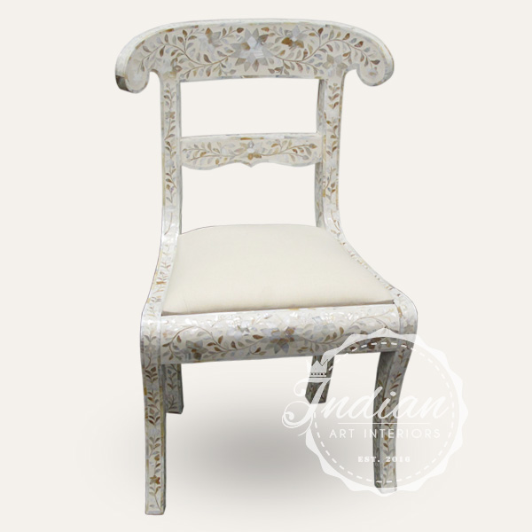 mop inlay dining chair