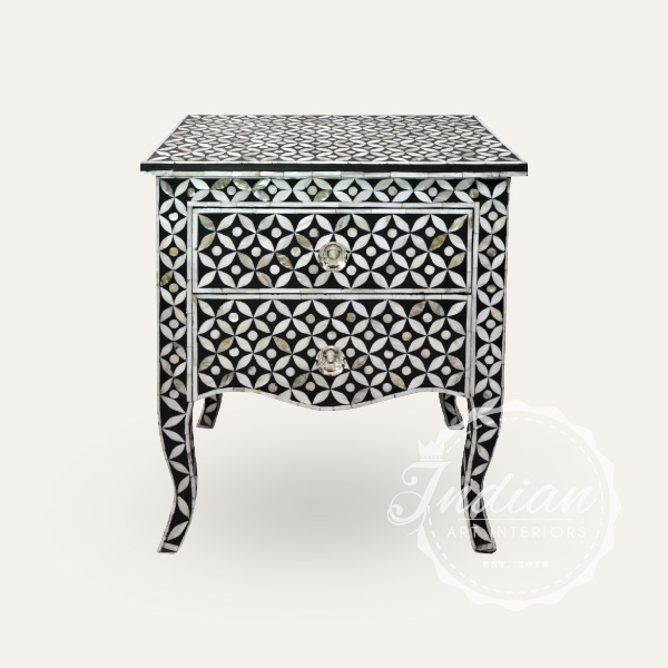 mop inlay side table