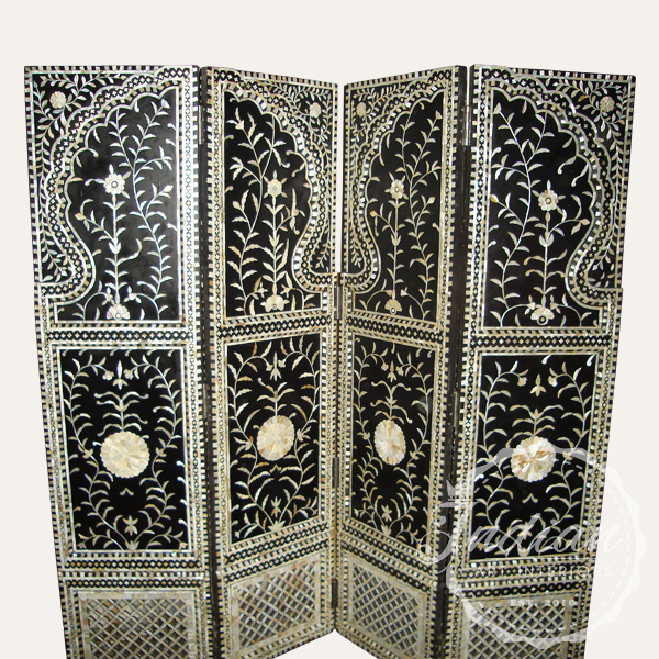 mother of pearl inlay side screen