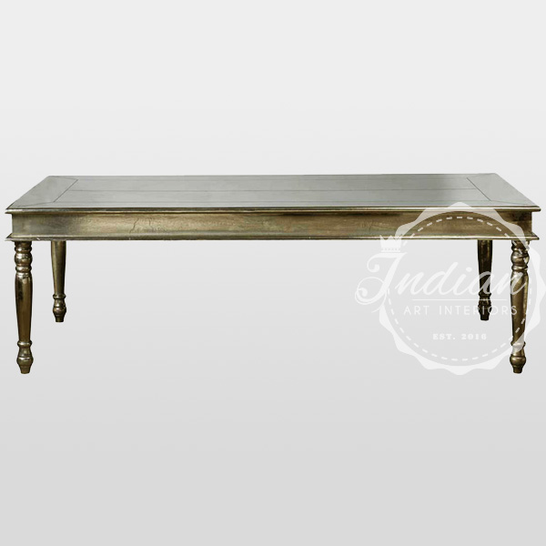 german silver dining table
