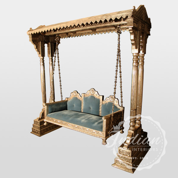 silver handicraft porch swing