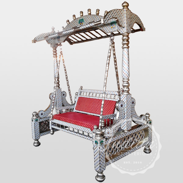 indian meenakari porch swing