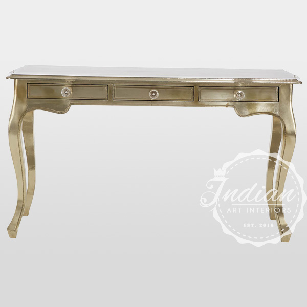 white metal handicraft console